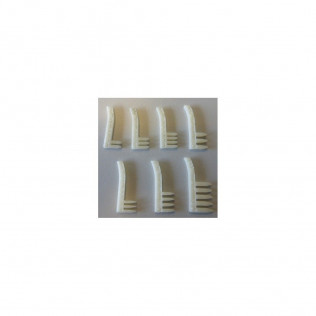 Set of headcombs A2, A3, A4, A5, B1, H1, W1 and W2